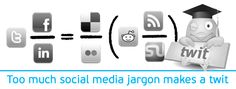 The one about social media jargon: http://turquoisetiger.co.uk/2011/05/too-much-social-media-jargon-makes-a-twit/