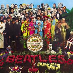"""The Sargent Pepper and the lonely heart's club"" Album cover"