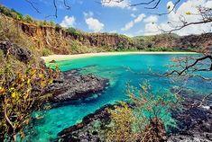 En archipiélago Fernando de Noronha, se encuentra la playa más hermosa y paradisíaca de todo brasil.