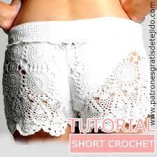 Resultado de imagen para crochet paso a paso del short