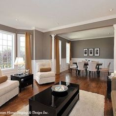 Living Room Wainscoting Design Pictures Remodel Decor And Ideas Page 29