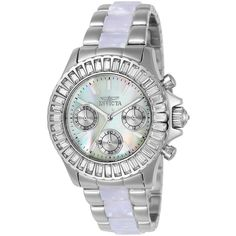 Invicta Angel Womens Multicolor Bracelet Watch-22968 ($150) ❤ liked on Polyvore featuring jewelry, watches, multi colored jewelry, multicolor jewelry, invicta, invicta wrist watch and multi color jewelry