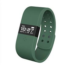 Special Offers - Atecher Support Apple Notification Center Service Bluetooth 4.0 Smart Wristband  Activity Tracker Sleep Monitor Heart Rate Measuring Health Care WristWatch Smartband for Android Phone Samsung GALAXY Note 3/Samsung GALAXY S4 S5/Samsung GALAXY Grand 2/GALAXY S4/HTC One/Moto X/Nexus 5/Sony Xperia Z1/LG G2 Lumia1520 and Apple iPhone iphone(4/4S/5/5C/5S/6/6Plus)-Armygreen - In stock & Free Shipping. You can save more money! Check It (April 11 2016 at 12:02PM)…