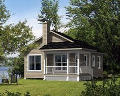 House Plan 52785 Elevation