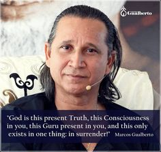 """God is this present Truth this Consciousness in you this Guru present in you and this only exists in one thing: in surrender!  When there is surrender there is this Presence this Consciousness and the whole thing is there! This surrender to your Being is God it is the Guru. So God the Guru the Being and You are just one thing! Bow down before this Being this Presence! Love that Being - your Real Being! When I talk about this Being I am not talking about the ego about """"me"""". There is something…"""