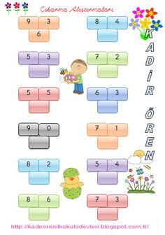 ilkokul ödevleri: 1.Sınıf Eğlenceli Çıkarma