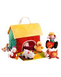 La ferme et ses animaux - Lilliputiens - Farm with its animals #farm #toy #play #imagination #kids #lilliputiens
