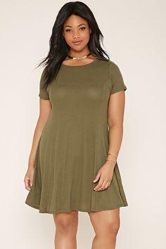 Plus Size T-Shirt Dress | Forever 21 PLUS - 2000187445