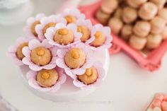 Flower sweets from a