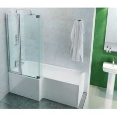 ClearGreen Ecosquare Contemporary Shower Bath