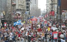 SERIOUS INJURIES, POSSIBLE BREAKTHROUGH IN QUEBEC TUITION PROTESTS  byAngus Johnston