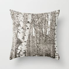 BIRCHWOOD  Throw Pillow
