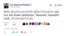 """artistsassenach: """" Jamie x Claire: Dragonfly In Amber """"He survived. He survived. If that's true then… I have to go back."""" """""""