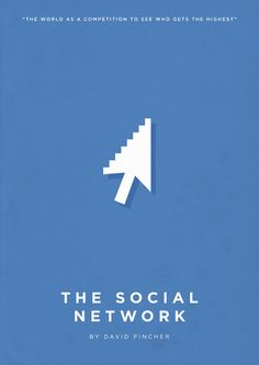 The Social Network (2010) ~ Minimalist Movie Poster by Eder Rengifo
