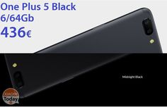 [Codice Sconto] One Plus 5 Black 6/64Gb a 436€ 8/128Gb a 516€ #Xiaomi #Android7 #Nougat #OnePlu5 #OnePlus #Op5 https://www.xiaomitoday.it/?p=22005