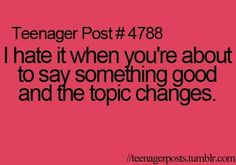 Teenager post #4788
