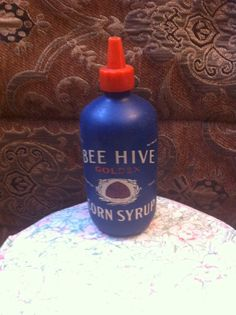 Bee Hive Syrup Squeeze Bottle