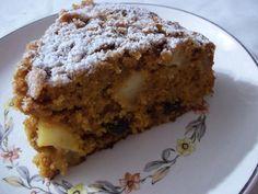 La Fiesta del Té: Torta de manzana y anís con pasas