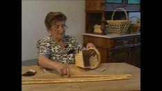 Haciendo cestos vegetales con Jacinta Ferrero