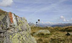 Wanderweg auf Meran 2000, Wandern in Südtirol, Italien