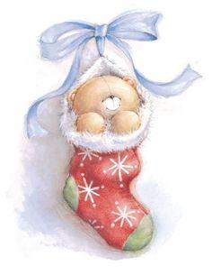 forever friends cute bears Christmas - Buscar con Google