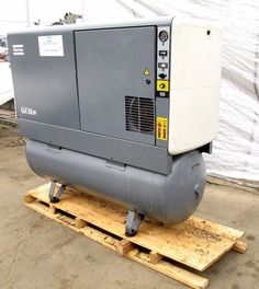 2002 ATLAS COPCO MODEL GX 18 FF OIL INJECTED ROTARY AIR COMPRESSOR W/ 35K HOURS…