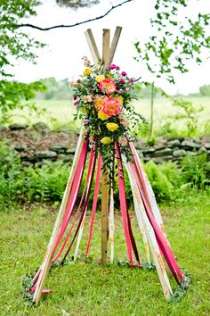 A Bohemian Bridal shower bursting with colour! Photography by http://spurlockphotography.com/