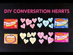 DIY Conversation Heart Candy Recipe — Dishmaps