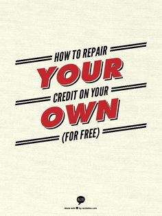 The credit repair market has become popular nowadays; and because of its popularity, a lot of credit repair products have claimed that they are the best available. Credit repair products may include books, CDs and computer software th Fix Bad Credit, Fix Your Credit, Build Credit, Wedding Stationary, Wedding Invitations, Invites, Improve Credit Score, Credit Repair Companies, Paying Off Credit Cards