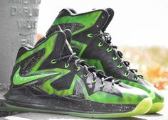 "Nike LeBron X Elite ""ParaNorman"" Customs by DMC Kicks"