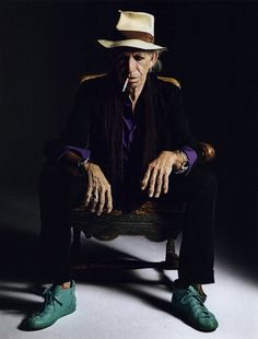 "KEITH RICHARDS ""Some things get better with age.. Like me"""