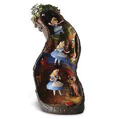 WDCC Signature Series ''Down the Rabbit Hole'' Alice in Wonderland Figurine | Figurines & Keepsakes | Disney Store | $999.50