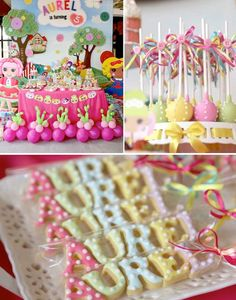Lalaloopsy themed birthday party via Kara's Party Ideas KarasPartyIdeas.com #lalaloopsy #karaspartyideas Invitation, decor, supplies, favors...