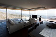 House in Yatsugatake - Bold Sculptural Mountain Home By Kidosaki Architects