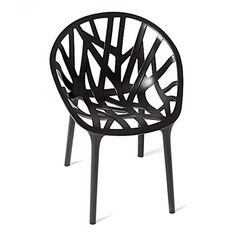Vitra - Vegetal, basic dark (Kunststoffgleiter) Basic dark T:57 H:81 B:60