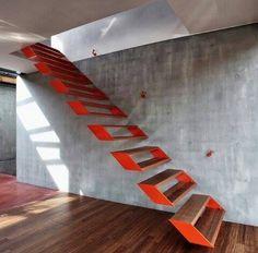 ¿No os parecen unas escaleras mágicas?