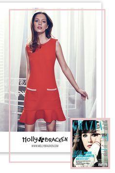Magazine Grazia - France - Avril 2017 - Molly Bracken Spring Summer 2017 #grazia  - Webdesign Template