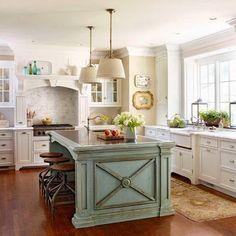 Vintage Farmhouse Kitchen Island Inspirations 60