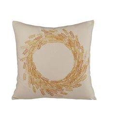 Autumn Wheat Pillow Cover