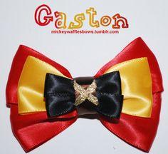 Gaston Hair Bow. $8.00, via Etsy.