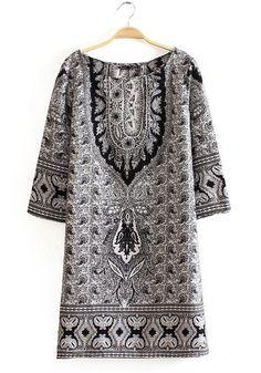 print dress ++