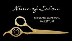 Elegant Black and Gold Salon Hairstylist Scissors Business Cards http://www.zazzle.com/elegant_black_and_gold_salon_hairstylist_scissors_business_card-240113609806884971?rf=238835258815790439&tc=GBCSalon1Pin