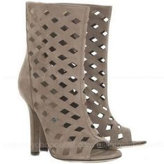 Jimmy Choo Reese Suede Cutout Boots  LOVE THEM!!