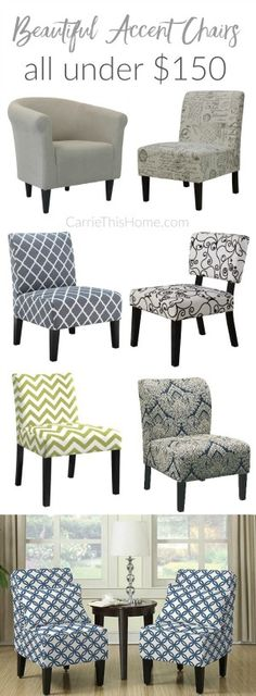 Great Sources For Affordable Furniture! This Is A Must Read! Beautiful Accent  Chairs Under