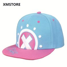 Japan Hot Anime Comic One Piece Baseball Cap Hat Tony Tony Chopper Snapback Hat For Women Men Adjustable  Hip Hop Caps Girl W50