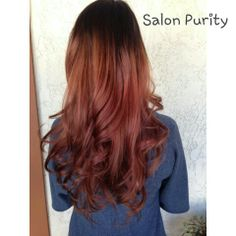 Prefecting the rose gold ombre :)