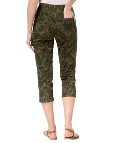 Hoildaylady A Shorts Female Beach Pants Bohemian Blue Printed Straight Wide Leg Pants Skirt Pants was Thin PD0003-blue-S
