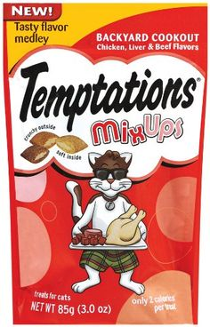 Whiskas Temptations Mixups Backyard Cookout 3Ounce Pack of 12 -- Read more reviews of the product by visiting the link on the image. Note: It's an affiliate link to Amazon.