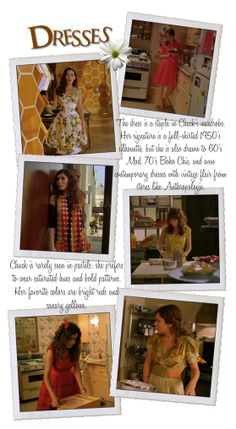 A WHOLE blog about the wardrobe from Pushing Daisies. I loved the way they dressed Chuck and I miss that show!