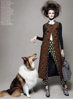Ethnic Fusion --- Daniel Jackson | Vogue UK August 2012 | Best inShow